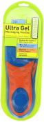 PROFOOT Ultra Gel Men's Massaging Gel Insole, Size 8-13, 1 pr