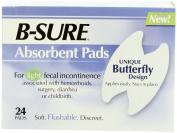B-Sure Anal Leakage Pads, Box/24 Pads