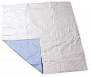 SleepDri Budget Reuse Quilted Underpad 81.3 cm x 91.5 cm with Flaps