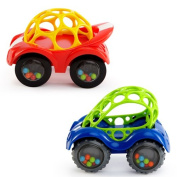 Oball Rattle & Roll Car Assortment