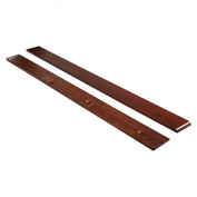 Delta Full Size Wood Bed Rails For Canton Crib - Dark Cherry
