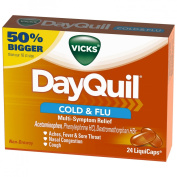 DayQuil Cold & Flu Multi-Sympton Relief - 24 LiquiCaps24 CT LIQUICAPS
