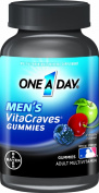 One a Day Men's Vitacraves Gummies, 100 Count