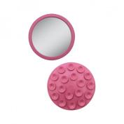 Zadro E-Z Grip Spot Mirror - Pink