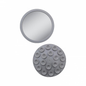 Zadro E-Z Grip Spot Mirror - Gray