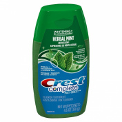 Crest whitening expressions fluoride anticavity toothpaste, herbal mint liquid gel 38 - 140ml