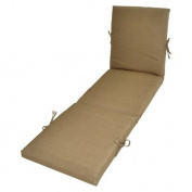 Threshold(TM) Outdoor Chaise Lounge Cushion - Beige Textured