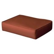 Siesta Outdoor Patio Ottoman Cushion - Orange