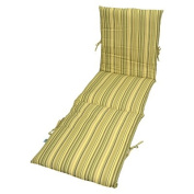 Outdoor Chaise Cushion - Fisher Stripe