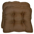 Smith & Hawken® 2-Piece Outdoor Wicker Seat Cushion Set - Espresso