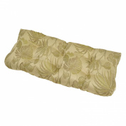 Outdoor Wicker Settee Cushion - Tropical Woven