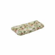 Outdoor Bench/Loveseat/Swing Cushion - Beige/Green Floral