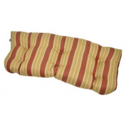 Outdoor Wicker Settee Cushion - Glenn Stripe