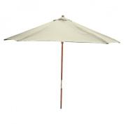 Room Essentials(TM) Wood Patio Umbrella - Cream 9'