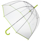 Totes Bubble Umbrella - Lime/Green