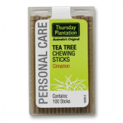 Tea Tree Toothpicks Cinnamon - 100 - Toothpick