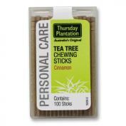 Tea Tree Toothpicks Cinnamon - 100 - Toothpick