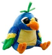 """""""Crackers"""" Parrot Soft Toy 25cm (One Parrot) - Various colours"""