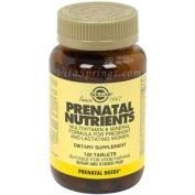 Solgar Prenatal Nutrients Tablets