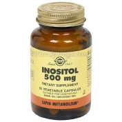 Solgar Inositol 500 mg Vegetable Capsules - 50 Vegicaps