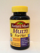 Nature Made Multi Vitamin For Her - 120 Tablets