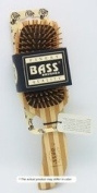 Brush - Semi S Shaped Wood Handle & Wood Bristles - 1 - Brush