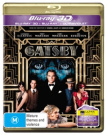 The Great Gatsby  [Region 4] [3D Blu-ray] [Blu-ray]