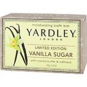 Yardley London Limited Edition Vanilla Sugar Moisturising Natural Bath Bar 130ml