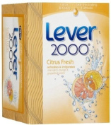 Lever 2000 Soap Bath Bar Citrus 120ml 2-Count