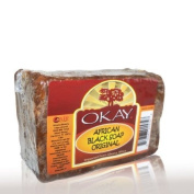 Okay African Soap, Black, 120ml