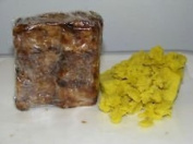 Raw African Black Soap..imported From Ghana 120ml Bar...and 120ml Container of Raw Shea Butter
