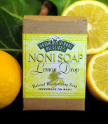 Handmade Noni Soap - Lemon Drop - 120ml Bar