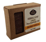 Orange Vanilla - Herbal Soap made with Pure Essential Oils 120ml