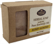 Honey Almond - Herbal Soap made with Pure Essential Oils 120ml