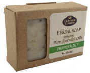 Peppermint - Herbal Soap made with Pure Essential Oils 120ml