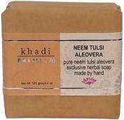 Khadi Premium Neem Tulsi Aloevera Bath Soap 125g