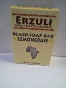 Erzuli Black Soap Bar Lemongrass 120ml