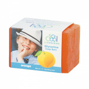 Orange Glycerine Soap Bars - Double Pack