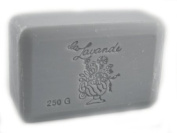 La Lavande Lavender Blue Soap, 250g wrapped bar, Imported from France