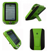 New LeapFrog LeapPad Ultra Learning Tablet 2013 GREEN Leather Case Cover Wallet with Built in Stand - Accessories by InventCase® & Exclusive to Sunny Savers