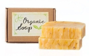 Jensan Lavender Rose Natural Organic Soap with Shea Butter and Essential Oils