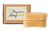 Jensan Lemongrass Natural Organic Soap with Shea Butter and Essential Oils