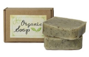 Jensan Mint Tea Natural Organic Soap with Shea Butter and Essential Oils