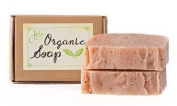 Jensan Patchouli Rose Natural Organic Soap with Shea Butter and Essential Oils