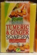 Tumeric Ginger Soap Spa Thailand