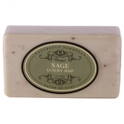 Naturally European Luxurious Natural Sage Wrapped Soap Bar 230g