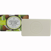Coconut Lime 200 G Wrapped Soap Bar Tropical Fruits