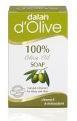 d'Olive Olive Oil Bar Soap (Total 4 bars) 160ml x 4 bars