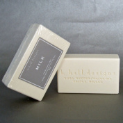 K Hall Milk Milled Triple Milled Shea Butter Soap 240ml