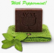"Neem Bark Soap - Peppermint - Karanja Oil 170ml Family Size Bar ""See Dr. Oz Show 2/4.3cm"